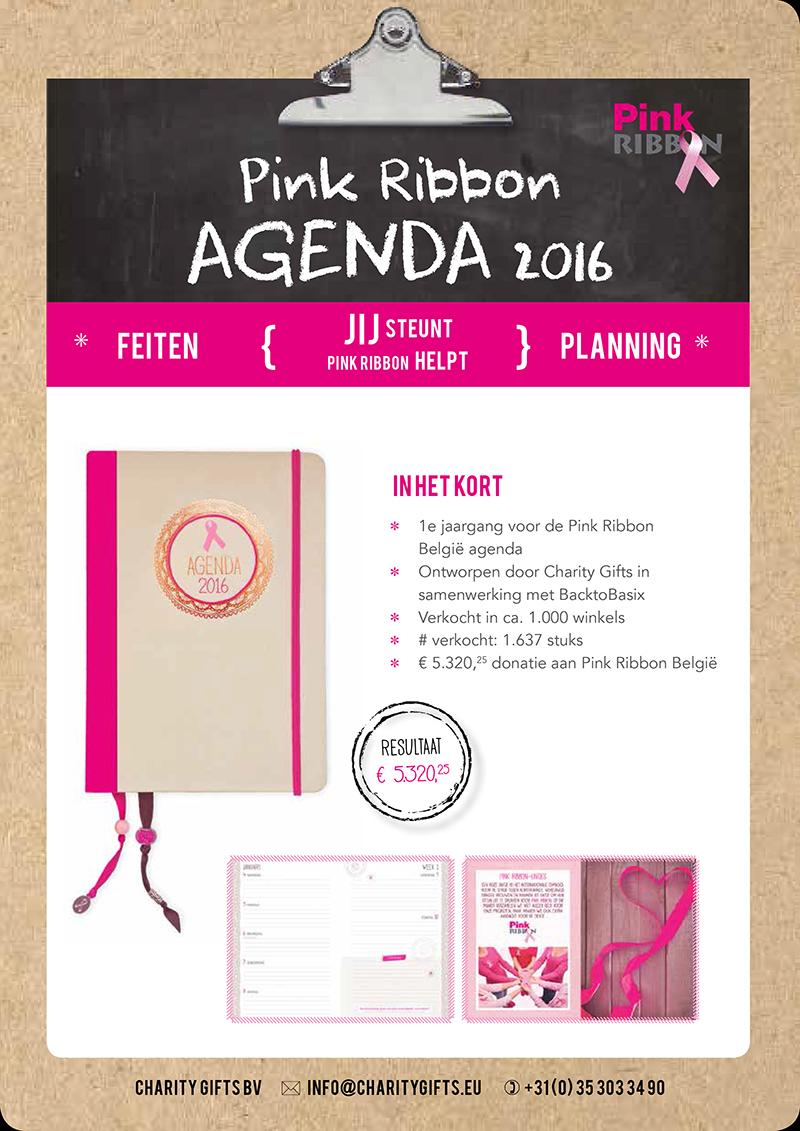 Pink Ribbon België Agenda 2016